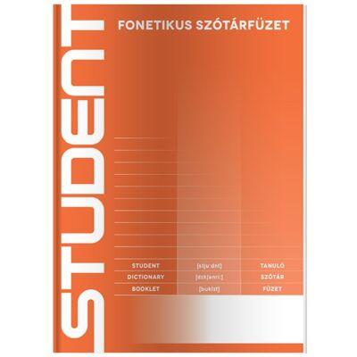 Szótárfüzet ICO Student A/5 fonetikus