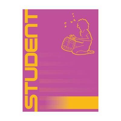 Füzet ICO Student A/4 86-32 hangjegy