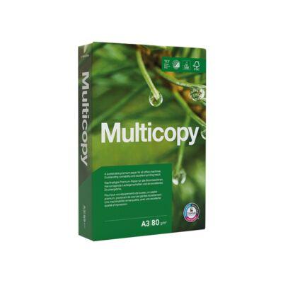 Fénymásolópapír MULTICOPY A/3 80 gr 500 ív/csomag