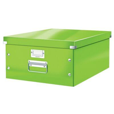 Tároló doboz LEITZ Click&Store A/3 zöld