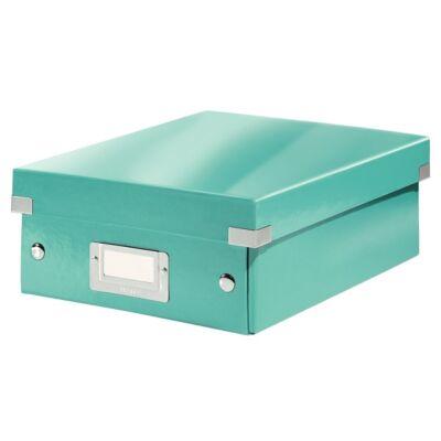 Tároló doboz LEITZ Click&Store rendszerező S méret jégkék