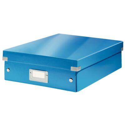 Tároló doboz LEITZ Click&Store rendszerező M méret kék