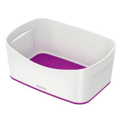 Tároló doboz LEITZ Wow Mybox műanyag fehér/lila