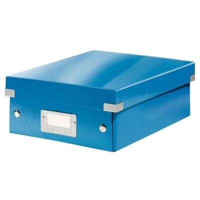 Tároló doboz LEITZ Click&Store rendszerező S méret kék