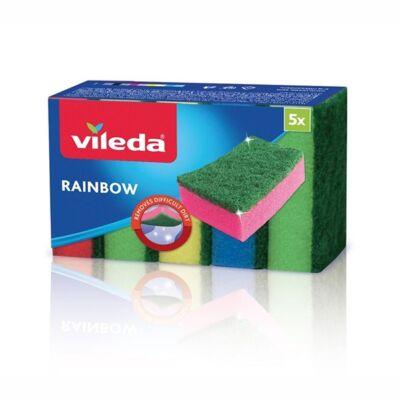 Mosogatószivacs VILEDA Style maxi színes 5 db