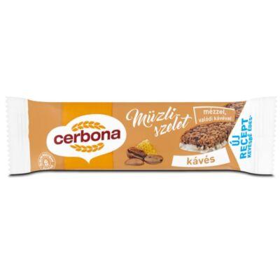 Müzliszelet CERBONA kávés 20g