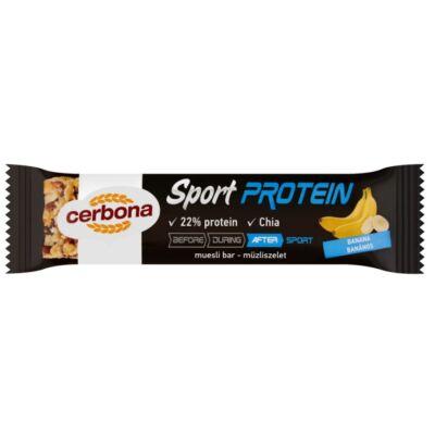 Müzliszelet CERBONA Protein banános 35g
