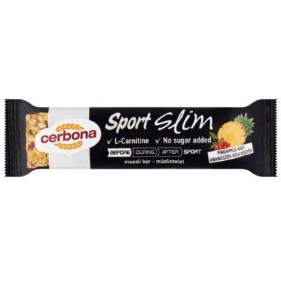 Müzliszelet CERBONA Slim ananászos-goji bogyós 35g