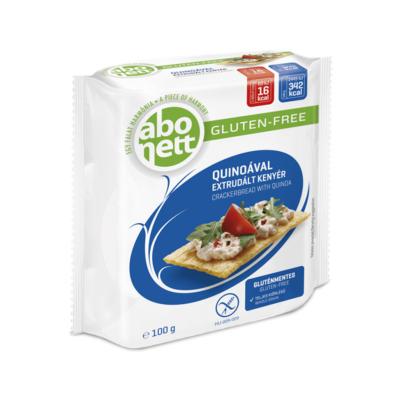Extrudált kenyér ABONETT gluténmentes quinoával 100g