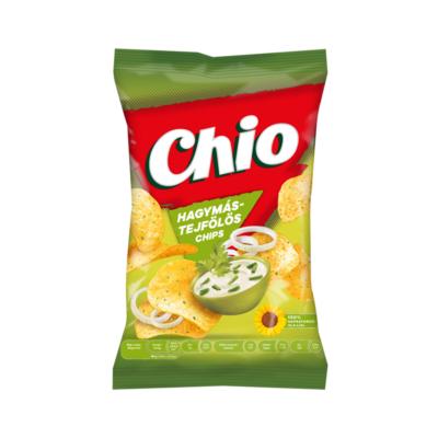 Burgonyachips CHIO hagymás-tejfölös 70g
