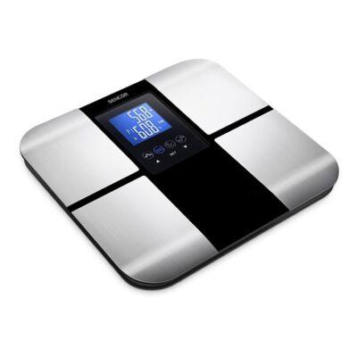 Személymérleg fitnesz SENCOR SBS 6015BK LCD 180 kg fekete
