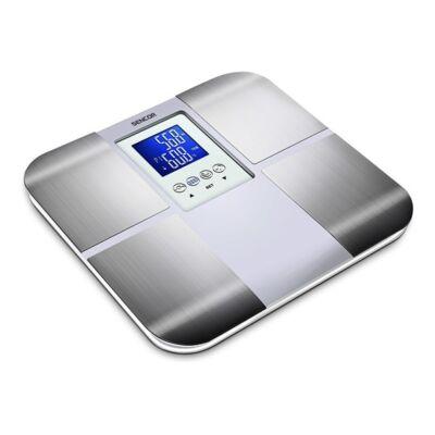 Személymérleg fitnesz SENCOR SBS 6015WH LCD 180 kg fehér