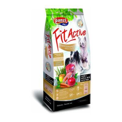 Állateledel száraz PANZI FitActive Maintenance Hypoallergén idős kutyáknak báránnyal almával és rizzsel 15 kg