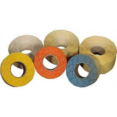 Árazószalag FORTUNA 25x16mm perforált eladási/egységár 10 tekercs/csomag