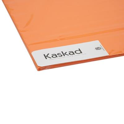 Dekorációs karton KASKAD 45x64 cm 2 oldalas 225 gr narancs 48 100 ív/csomag