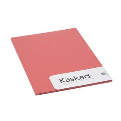 Névjegykártya karton KASKAD A/4 2 oldalas 225 gr vörös 29 20 ív/csomag