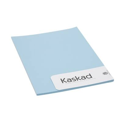 Névjegykártya karton KASKAD A/4 2 oldalas 225 gr kék 75 20 ív/csomag