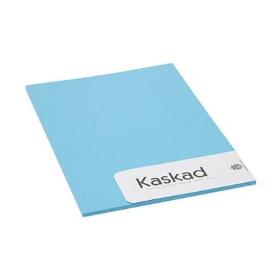 Névjegykártya karton KASKAD A/4 2 oldalas 225 gr vízkék 77 20 ív/csomag