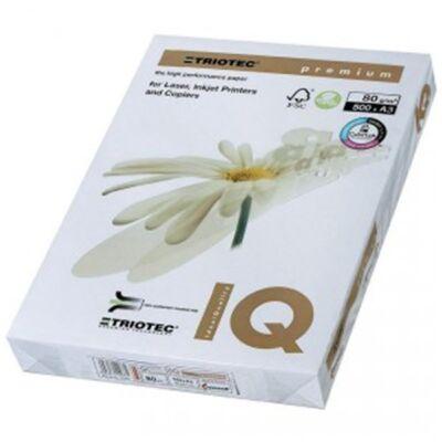 Fénymásolópapír IQ Premium Triotech A/3 80 gr 500 ív/csomag