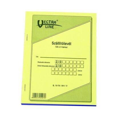 Nyomtatvány szállítólevél VECTRA-LINE A/5 25x4 álló
