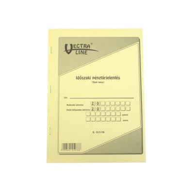 Nyomtatvány időszaki pénztárjelentés VECTRA-LINE 25x4
