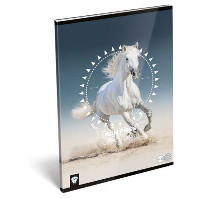 Füzet LIZZY A/4 32 lapos vonalas 81-32 Horse