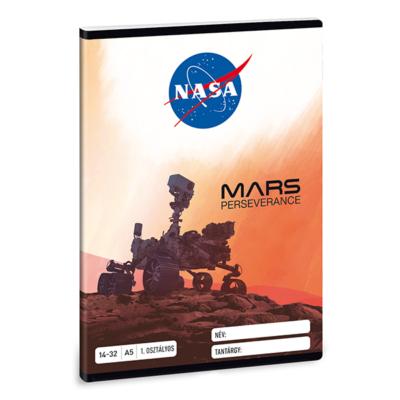 Füzet ARS UNA A/5 32 lapos vonalas 14-32 I. osztályos NASA-1