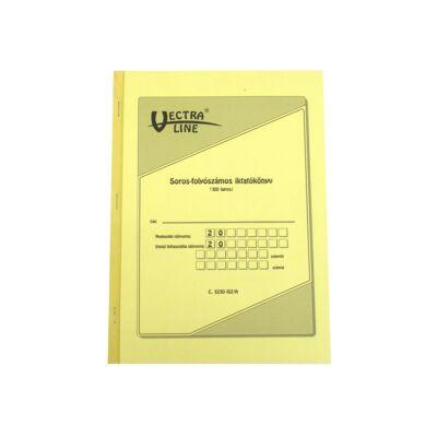 Nyomtatvány iktatókönyv VECTRA-LINE