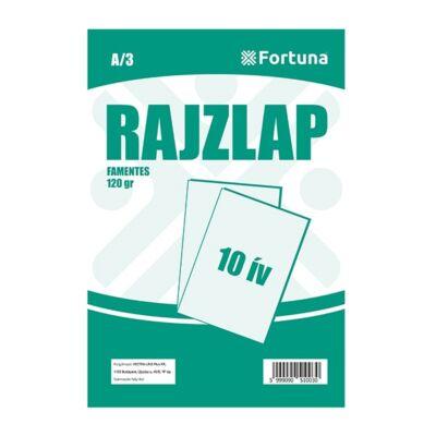Rajzlap FORTUNA A/3 120 gr famentes 10 ív/csomag