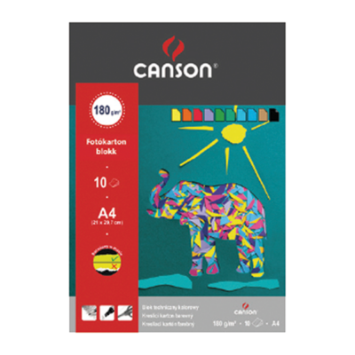 Fotókarton CANSON A/3 160 gr 10 ív/tömb
