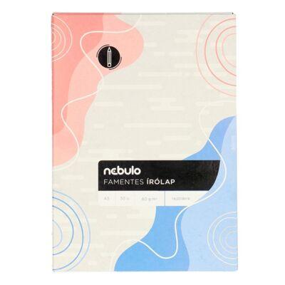 Írólap NEBULO A/5 famentes 20-50  50 ív/csomag