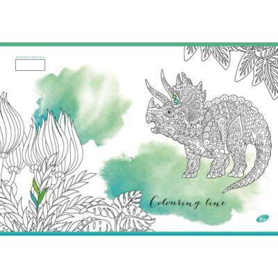 Füzet ELISA A/4 40 lapos Color kockás vegyes