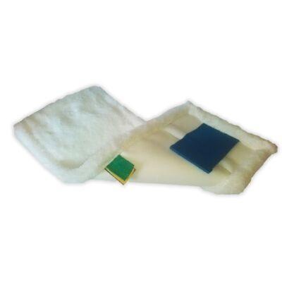 Felmosófej MOP IDEAL zsebes és füles 40cm mikroszálas