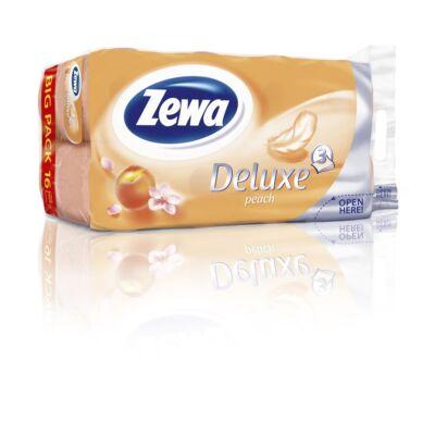 Toalettpapír ZEWA Deluxe 3 rétegű 16 tekercses Cashmere Peach