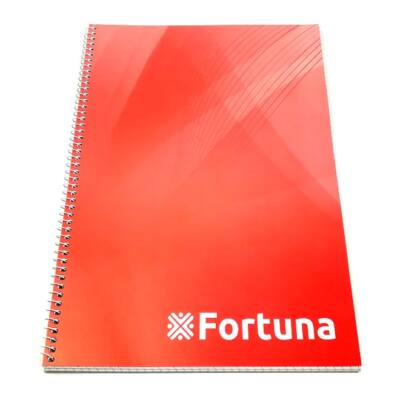 Spirálfüzet FORTUNA Basic A/4 70 lapos kockás